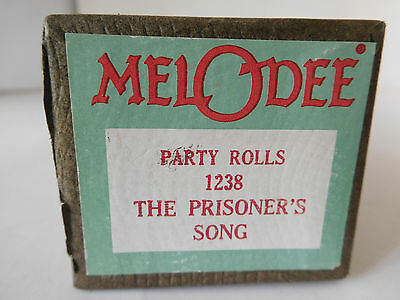 THE PRISONER'S SONG - MELODEE Player Piano Party Roll 1238