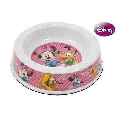 Ecuelle chien chat Disney Minnie et Pluto Bol gamelle