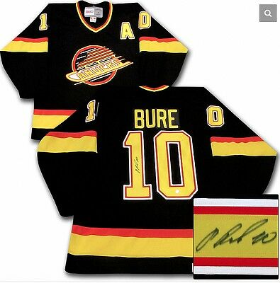 Pavel Bure Vancouver Canucks Autographed CCM Replica Hockey Jersey - FROZEN POND