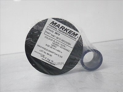 81 3810 060030BK Markem thermal transfert ribbons 30mm X 600m black (New in Bag)