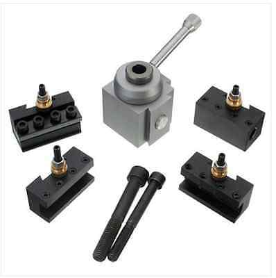 Mini Quick Change Tool Post Holder Kit Set For Table/Hobby Lathes