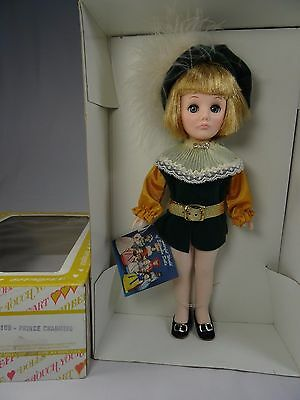 Effanbee Prince Charming Doll 1976 Vintage Vinyl Blond with Box