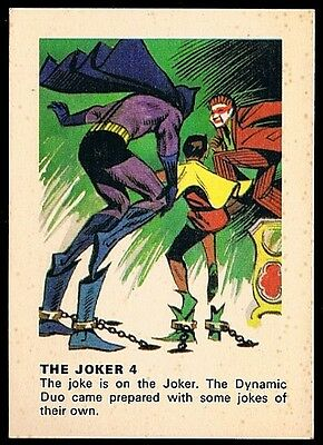 BATMAN • Weeties • 1966 • Joker 4