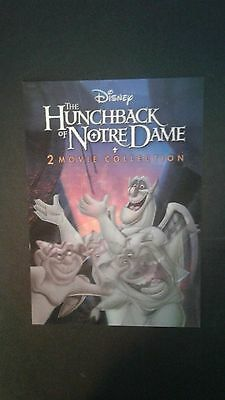 Disney Movie Club 3D Lenticular Card Hunchback of Notre Dame RARE collector's