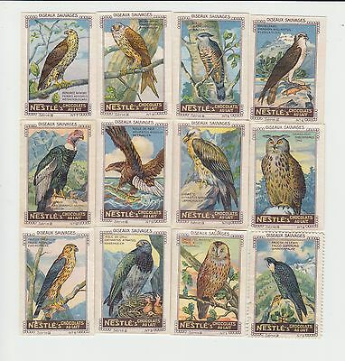 Birds : 3 complete sets of French trade cards / vignettes circa 1928