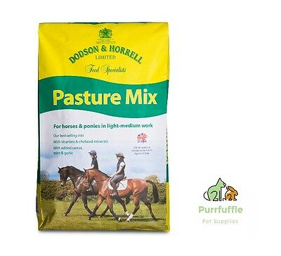 20Kg Dodson & Horrell Pasture Mix Horse Coarse Food Feed With Vitamins