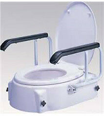 Toilet Seat Raiser with Swing Back Arms - 100kg