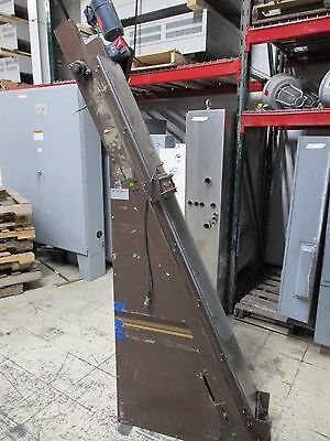 "Money Systems Technology Coin Conveyor Size: 6.5' x 8"" 110V Used"
