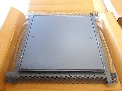 ELMDOR ML18X18-PC-SDL Metal Lath Access Panel w/ Screw Drive Access, Prime Coat