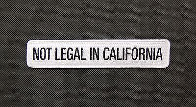 NOT LEGAL IN CALIFORNIA Morale Patch Everyday No Days Off ENDO Equipment CA CALI
