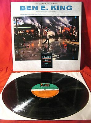 """Ben E. King - Stand By Me (The Ultimate Collection) LP. 12"""" Vinyl 1987 EX/EX"""