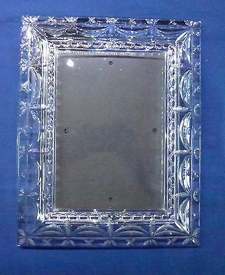 """Cast Glass Pictue Frame 8"""" X 10"""""""