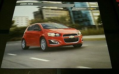 2016 Chevy Sonic 24-page Original Sales Brochure