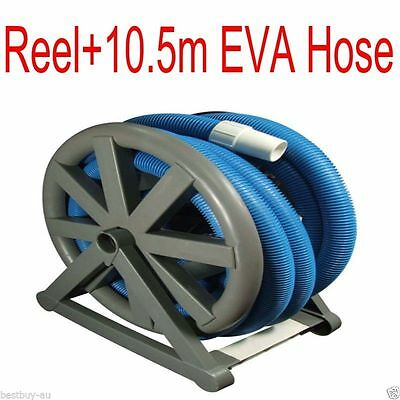 AUTOMATIC SWIMMING POOL VACUUM CLEANER Reel caddy with 12m EVA HOSE
