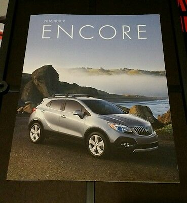 2016 Buick Encore 38-page Original Sales Brochure