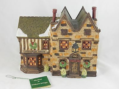 Department 56 Dickens Village Limited Edition Chesterton Manor