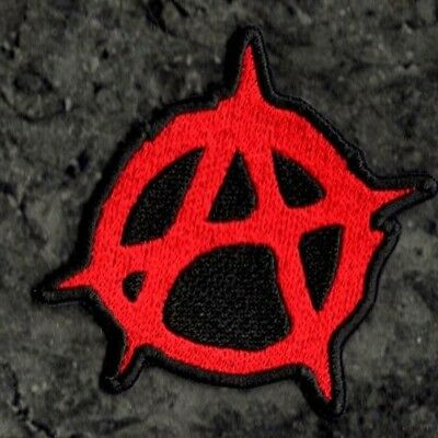 Anarchy no government Anarchist  A style anarchy Patch Embroidered Iron or Sewon