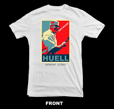 "HUELL HOWSER - TRIBUTE (California's Gold -""That's Amazing"") T-SHIRT ~NEW~"