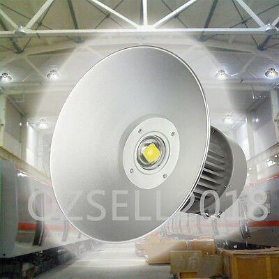 2x 100W LED High Bay Lighting Light Lamp Warehouse Industrial Factory Commercial