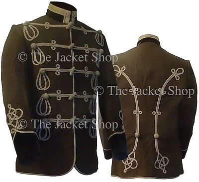 Victorian Dress Tunic Smoking Jacket Velvet Collar and Cuffs