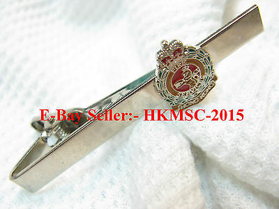 British Commonwealth Era Hong Kong Fire Services (Fire Brigade) QC Tie Chip