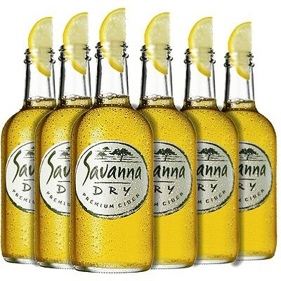 South African Alcohol/ Cider - Savanna Dry Cider (Case of 24)