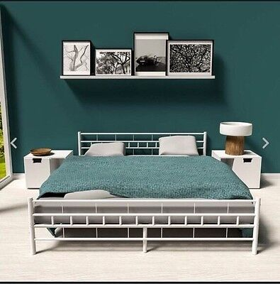 ikea bett malm 160x200 schwarz eur 15 50 picclick de. Black Bedroom Furniture Sets. Home Design Ideas