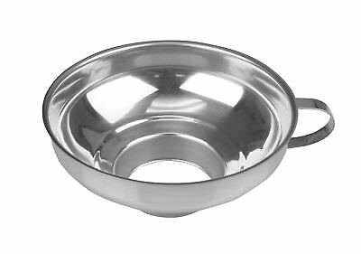 """Fox Run Canning Funnel Large Wide Mouth Fits Jars 2.5-5.75"""" Stainless Steel New"""