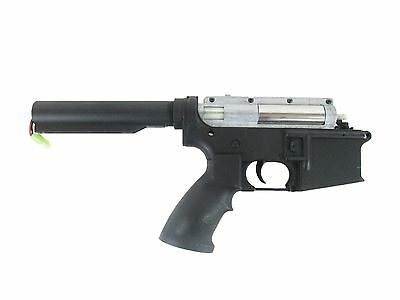 Performance Full Metal Silver Gearbox - DMR Grip - w/ Lower & Motor - Airsoft