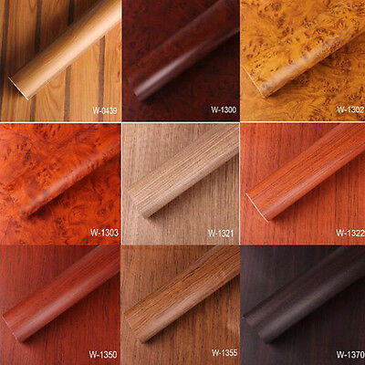 Wood Grain Sticky Back Self Adhesive Vinyl Film Contact Paper