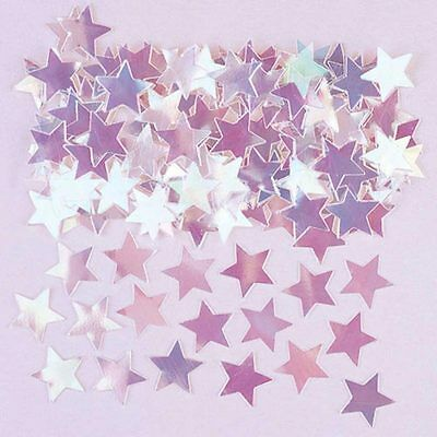 Amscan Iridescent Stars Metallic Confetti Table Scatter Decoration for Parties