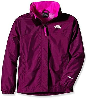 (TG. Large) THE NORTH FACE, Giacca Bambina Resolve Reflective, Viola (Parlour Pu