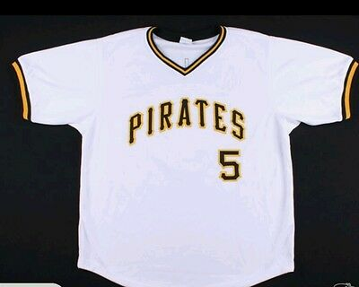 Bill Madlock signed pirates jersey