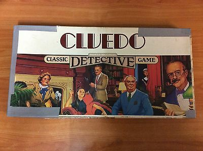 Vintage 1986 Board Game - Cluedo The Classic Detective Game - 100% Complete