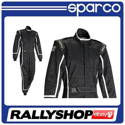Sparco ROOKIE K-3 SUIT size L,CHEAP DELIVERY WORLDWIDE (Kart,Race,Rally) Black