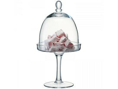 LSA Serve Stand & Dome - Clear - 15cm plate