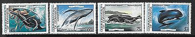 Dominica Sg839/42 1983 Save The Whales   Mnh
