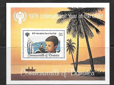 Dominica Sgms659 1979 Year Of The Child  Mnh