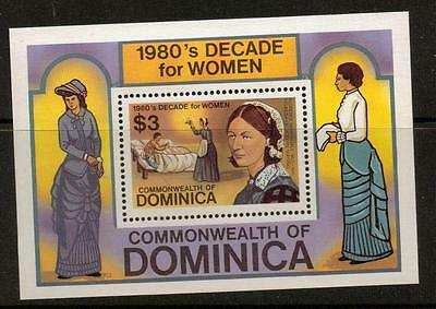 Dominica Sgms810 1982 Decade For Women  Mnh
