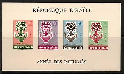 Haiti Sgms681 1960 World Refugee Year Mnh