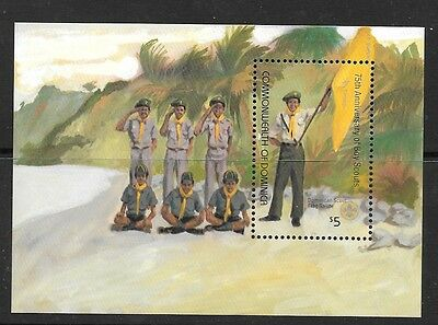 Dominica Sgms829 1982 Scouts   Mnh