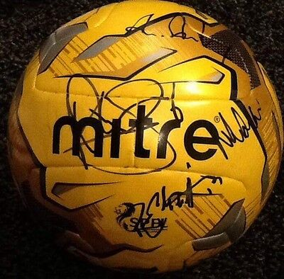 Partick Thistle Squad Signed Spfl Football 2016/17