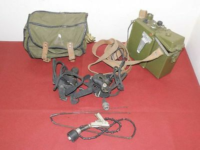 SALE Military Soviet Radio Station R-126 TESTED with accessories SALE!