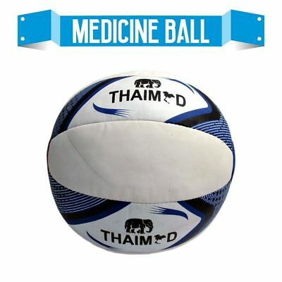 Pro Medicine Ball 5 KG With Free Hand Grippers Fitness Gym Exercise Training