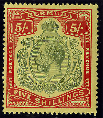 Bermuda  1910-24  Scott # 52  Mint Lightly Hinged