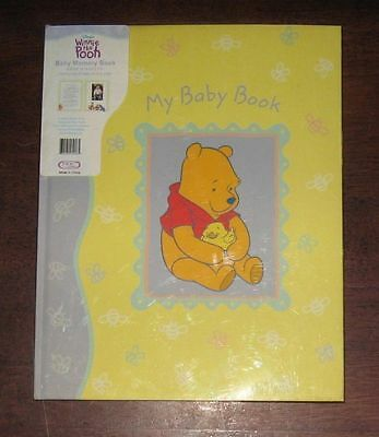 Never used! records memory MY BABY BOOK Winnie the Pooh 1st year Keepsake album