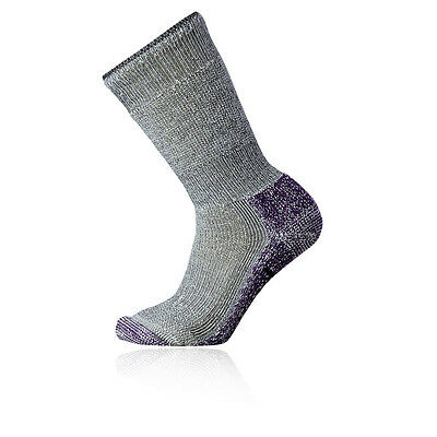 Smartwool Mountaineering Extra Heavy Mujer Gris Caminar Hiking Largo Calcetines