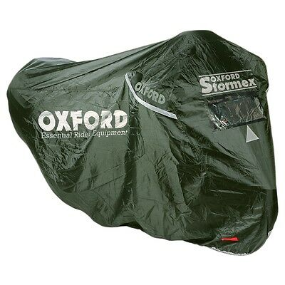 Oxford Stormex Ultimate All-Weather Bike Cover Oxford OF140 Medium Sports/Naked