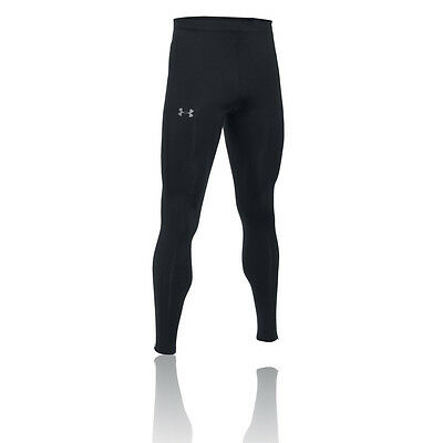 Under Armour No Breaks Heatgear Hombre Negro Compresión Correr Mallas Pantalones