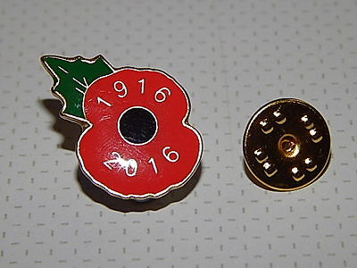 RBL Latest Poppy Badge - Dated 1916 - 2016. Latest badge in the series